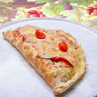 Three Cheese Pizza Calzones