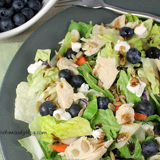 Blueberry Salad With Goat Cheese Recipes