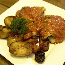 Chicken Cyril With a Tomato Basil Sauce