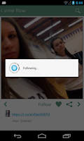 Screenshot of Vine Flow (Vine video app)