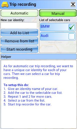 Drivers Triplog Professional - screenshot