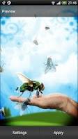 Screenshot of Pesky Fly Live Wallpaper