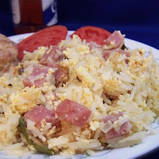 Ham and Egg Jambalaya
