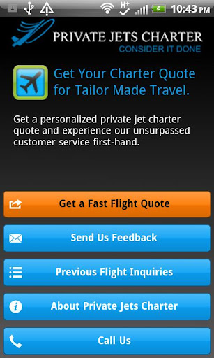 【免費旅遊App】Private Jets Charter-APP點子