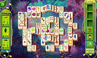Screenshot of Mahjong Butterfly