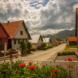 Mountain village of Mrkopalj by Stanislav Horacek - City,  Street & Park  Vistas