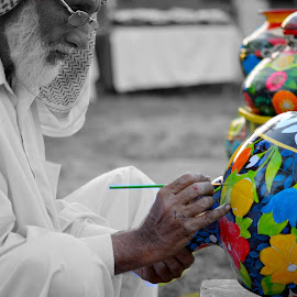 Colors of Life by Asma Rehman - Artistic Objects Other Objects ( selective color, pwc )