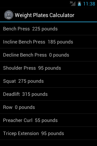 Weight Plates Calculator