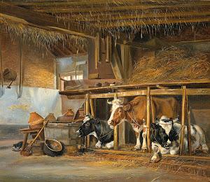 RIJKS: Jan van Ravenswaay: painting 1820
