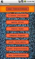 Screenshot of Geeks Phrases