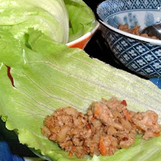 Easy  Asian Chicken Lettuce Wraps