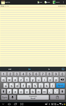 Notepad APK screenshot thumbnail 10