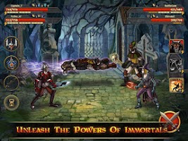 Screenshot of Clash of the Damned