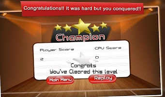 Screenshot of Squash Champ: Sports Challenge
