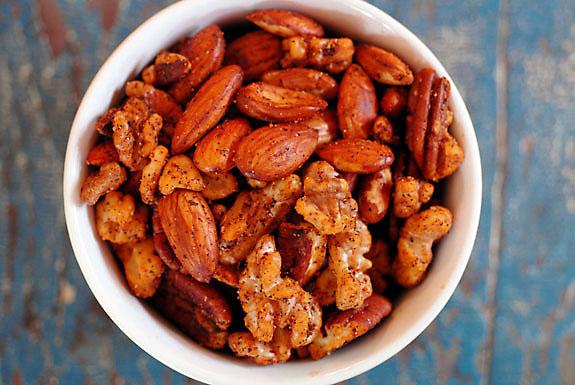 Paleo Spiced Nuts