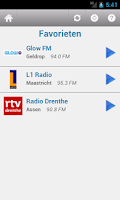 Screenshot of Nederland Radio