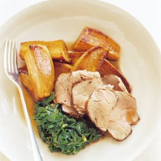 Pork Tenderloin With Honeyed Butter