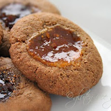 Thumbprint Cookies with Buckwheat Flour + Brown Sugar