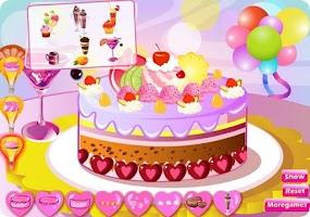 Screenshot of Yummy Cake Cooking Games