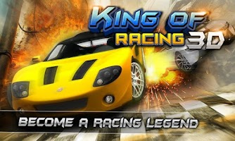 Screenshot of KING OF RACING 3D