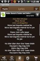 Screenshot of Top 100 Old Hindi Songs