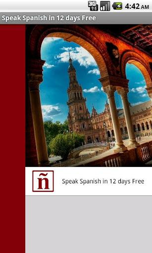 Speak Spanish in 12 days Free