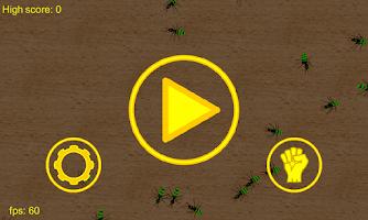 Screenshot of 3D Zombie Ant Smash Ball