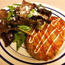 Shredded Potato Salmon Cakes