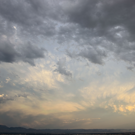 Above ABQ by Jon Foley - Landscapes Cloud Formations ( clouds, albuquerque, new mexico )