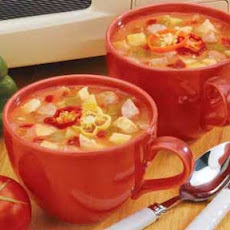 Sausage Chicken Soup