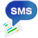 Chart SMS icon