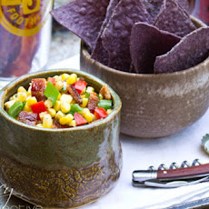 Candied Bacon Corn Salsa