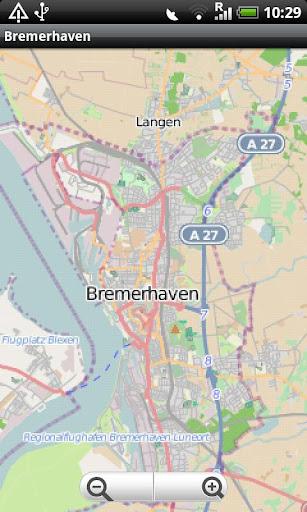 Bremerhaven Street Map
