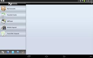 Screenshot of Heritage Valley Mobile Tablet