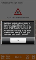 Screenshot of BSM Theory Test - Free Edition