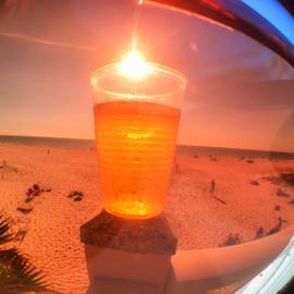 Beach Dreams  by Ken Wagner - Instagram & Mobile iPhone ( beer beach sun )