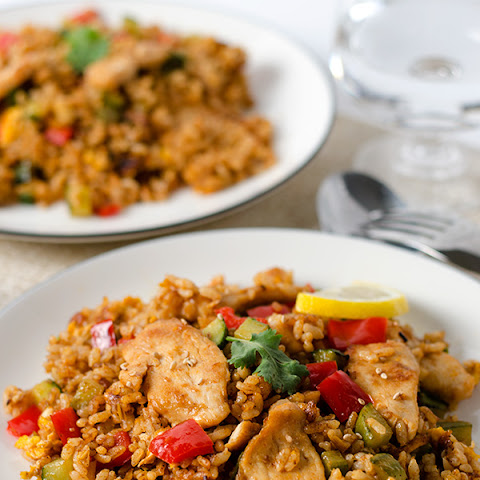 Thai Curry Chicken Fried Rice