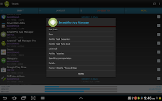 Screenshot of Smart Task Manager Pro