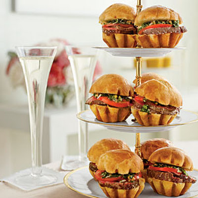 Salt-Roasted Beef Tenderloin Sliders