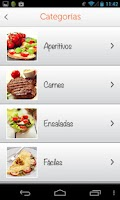 Screenshot of Recetas: iMujer Gourmet