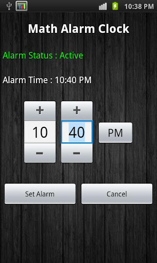 Math Alarm Clock Lite
