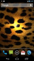 Screenshot of Leopard Print Live Wallpaper