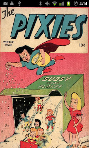 The Pixies Comic Book 1