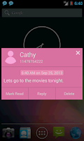 Screenshot of SMS Notifier Pro