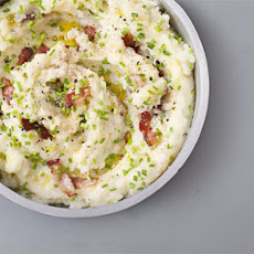 Cheese & Chive Mash With Bacon