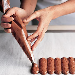 Chocolate Ladyfingers and Cake Rounds