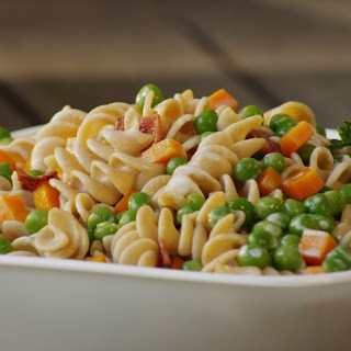 Peas and Pasta Salad