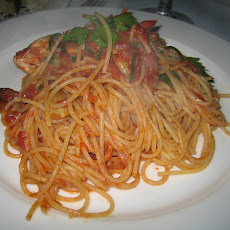 Spaghettini with Checca Sauce