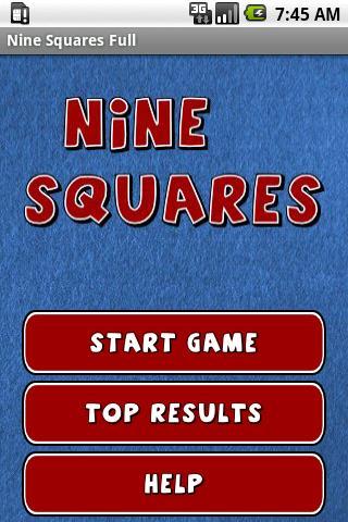 Nine Squares Full