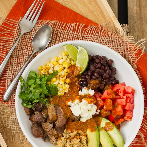 Mexican Quinoa Bowl with Chipotle Vinaigrette